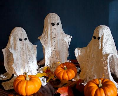 Ashbee Design Wispy Ghosts Diy Halloween Decoration