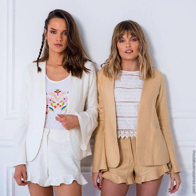 Moda primavera verano 2018 ropa de moda para mujer.