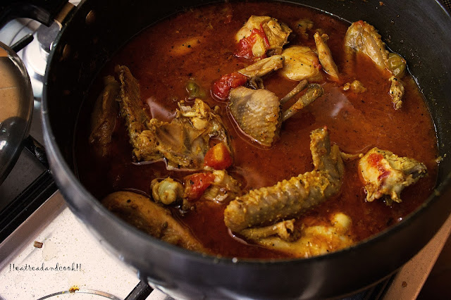 how to cook Balti Chicken rrecipe and preparation with step by step pictures