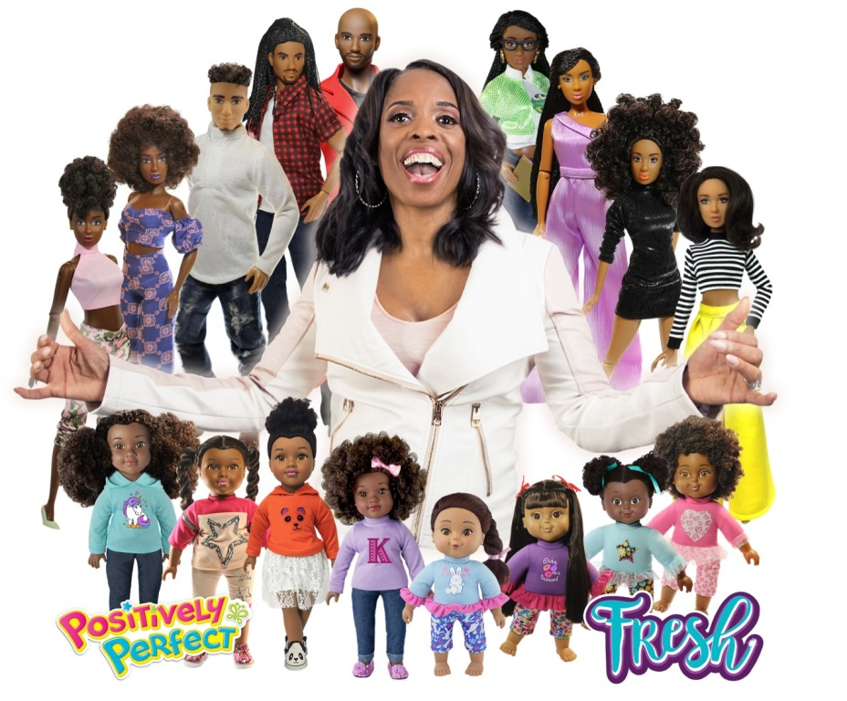 Fresh Squad Doll Deluxe Set  Sold by Dr Lisa MALIK