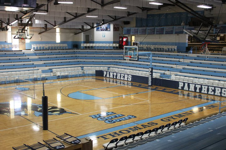 Hidden gyms the key to making thomas gym special for Cost to build a basketball gym