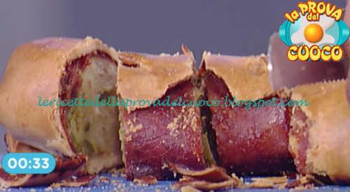 Prova del cuoco - Ingredienti e procedimento della ricetta Strudel salato con prosciutto cotto zucchine e formaggio di Cristian Bertol