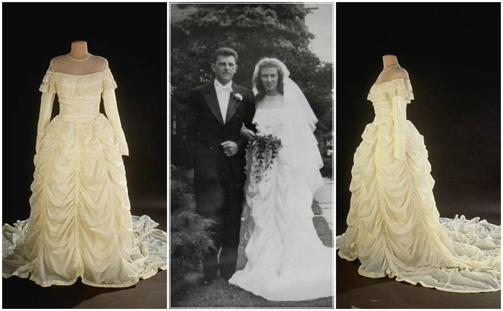 Grateful Writer: The Parachute Wedding Dress