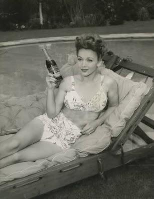 Carole Landis Cola Ad