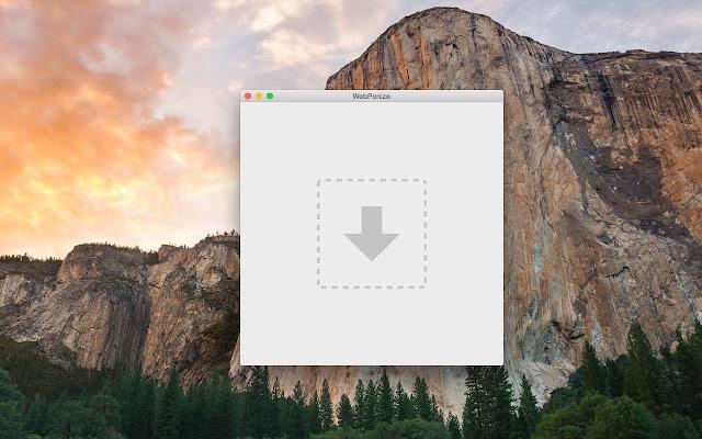 Convertissez  gratuitement vos images .png en .webp avec WebPonize, A Unix Mind In A Windows World