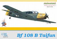 Galerie Photos de la maquette du Bf 108 Taifun d'Eduard au 1/48.