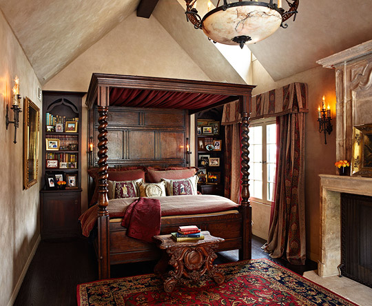 New Home Interior Design Old World Style For A Tudor