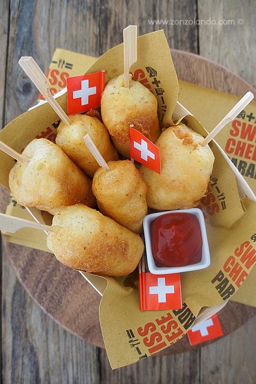 Stecchi di formaggio filante impanato e fritto ricetta - super tasty fried cheese corn sticks recipe