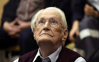 APPEALS FOR CLEMENCY IN LAST EFFORT TO AVOID PRISON BY 'BOOKKEEPER OF AUSCHWITZ'