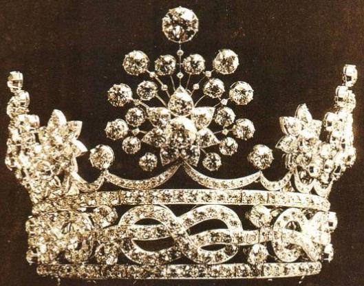 Knots Stars Tiara Princess Helene Duchess Aosta Savoy Musy