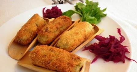 Cocina macrobi tica croquetas de chiriv a puerro y for Cocina macrobiotica