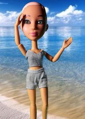 Кукла с париком Snapstar