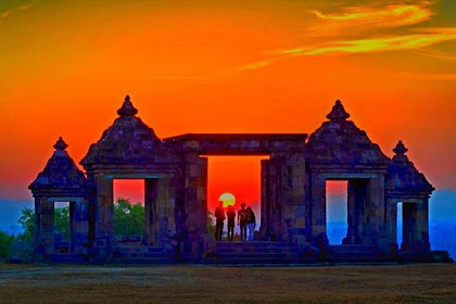 Candi Ratu Boko, Tempat Wisata Yogyakarta untuk Menyaksikan Sunset