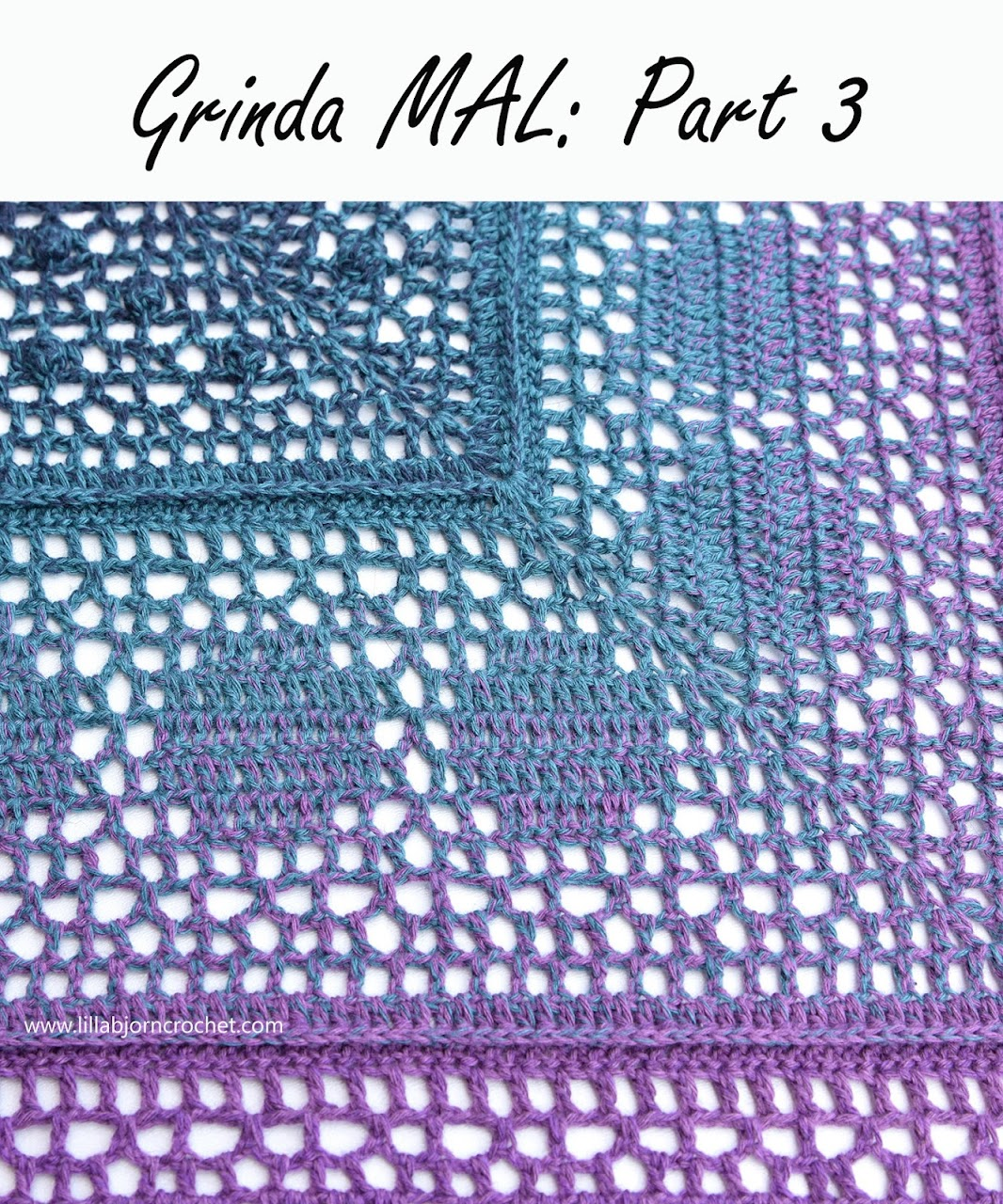 Grinda MAL: Part 3. Free #crochet pattern by www.lillabjorncrochet.com
