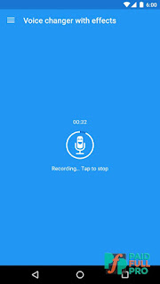 Voice changer with effects Premium APK