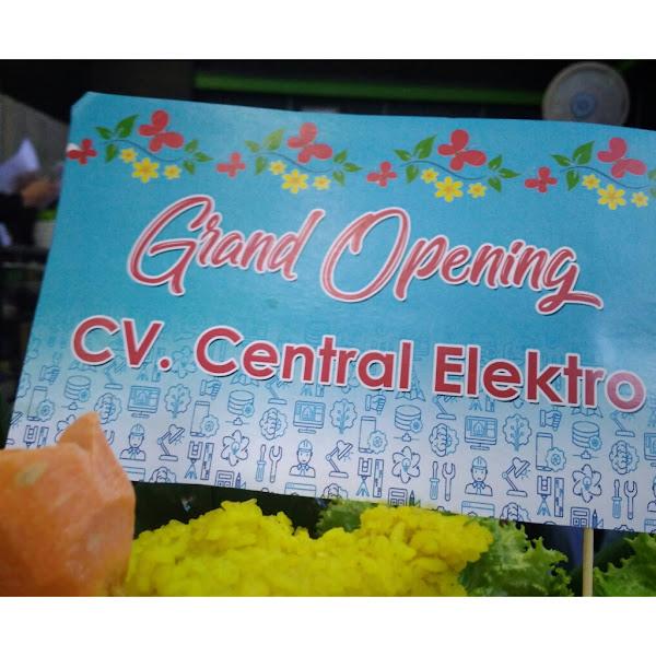 Grand Opening Central Elekro, Ahlinya AC Anda