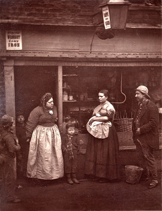 John Thomson S Street Life In London 1876 Vintage Everyday