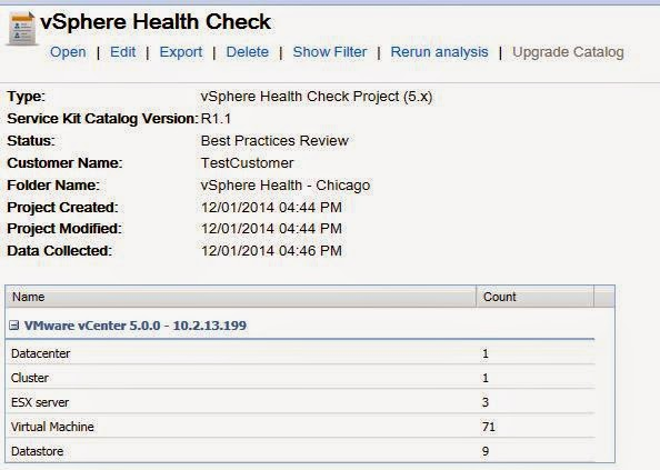 Vmware View Health Check Report