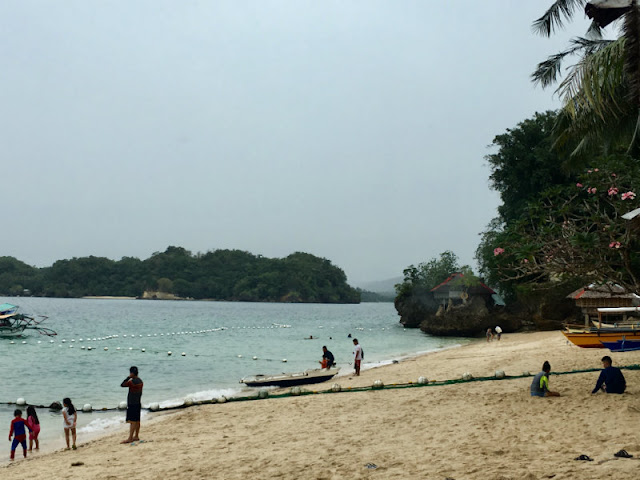 Alubihod Beach is one of the famous beach destinations in Guimaras. It is situated in the town of Nueva Valencia.