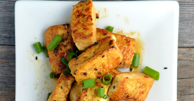 #Recipe : Sauteed Teriyaki Tofu