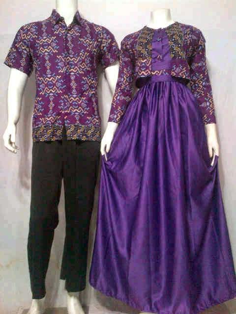 Batik Bagoes Solo Model Baju Gamis Batik Muslim