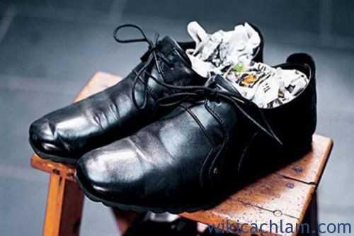 cách bảo quản giày