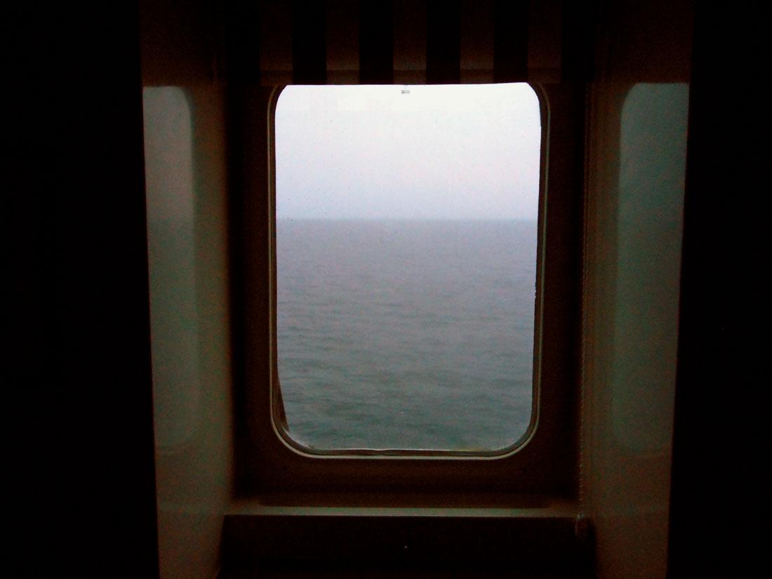 Dalla cabina delle nave