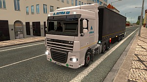Astra SB skin and trailer for DAF XF