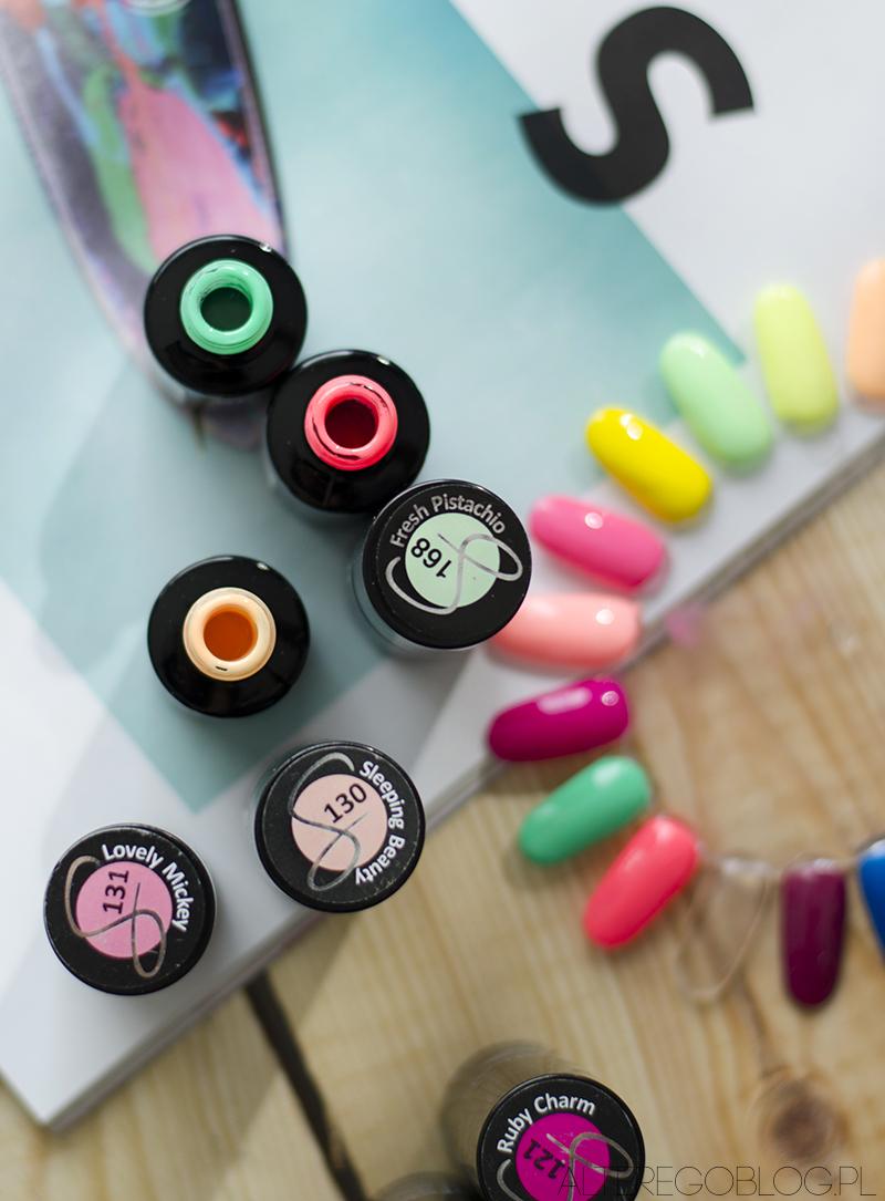 semilac neony, semilac neonowe, blog urodowy, semilac paznokcie,