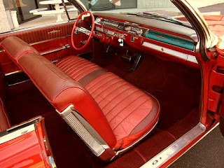 1962 Oldsmobile 98 Luxury Convertible Interior 2
