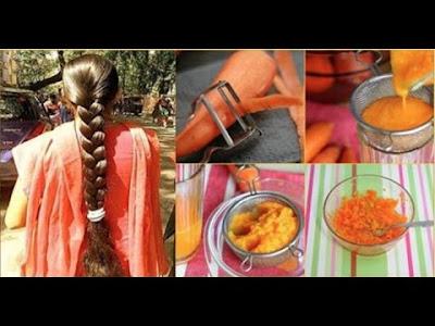 carrots Treats for hair loss