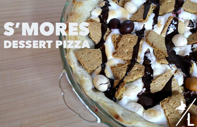 S'mores Dessert Pizza