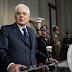 """Mattarella, ha dichiarato lapidario: """"Pensare di farcela senza l'Europa significa ingannare i cittadini. Il sovranismo è inattuabile"""". Non rispetta gli italiani e ci assoggetta all'Unione Europea"""