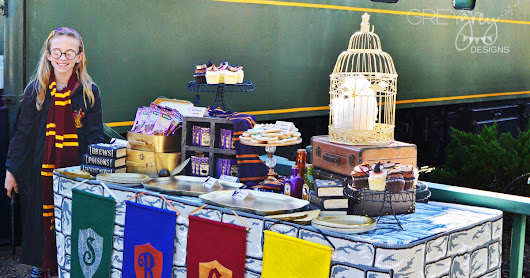 {My Parties} Sadie's Harry Potter Hogwarts Express Party