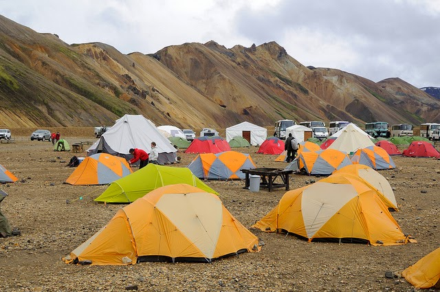 Camping in Iceland - Campsites in Iceland