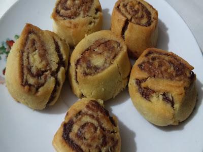 nutellalı kurabiye tarifi yapılışı