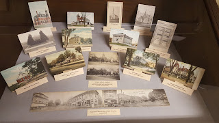 he Historical Museum refurbished one of their old displays to showcase these vintage postcards