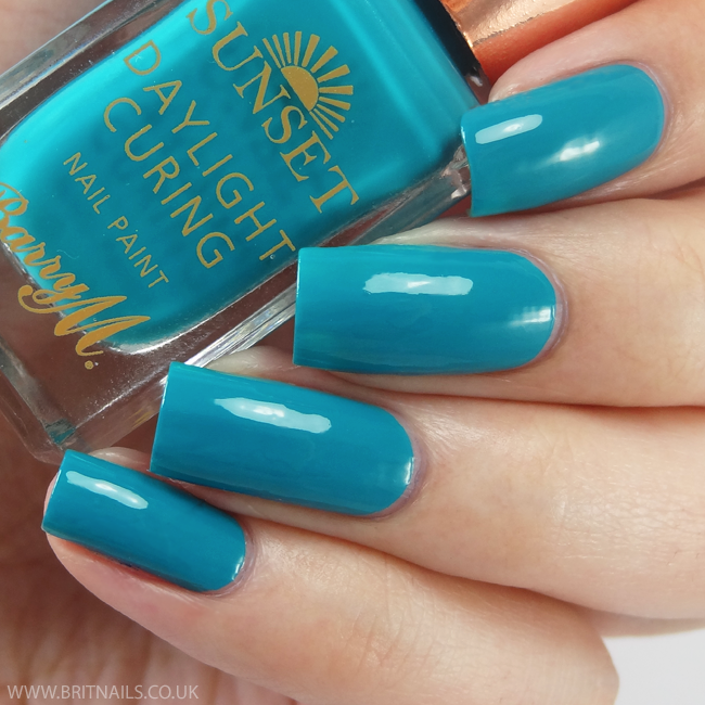 Barry M The Way You Make Me Teal