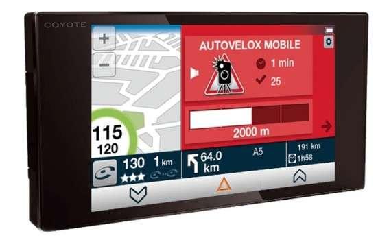 Coyote; potente dispositivo localizzatore di Autovelox in tempo reale, rilevatore di ZTL e telecamere al semaforo