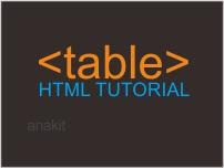 belajar cara membuat tabel di html