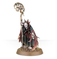 warhammer age of sigmar death alliance necromancer miniature from games workshop