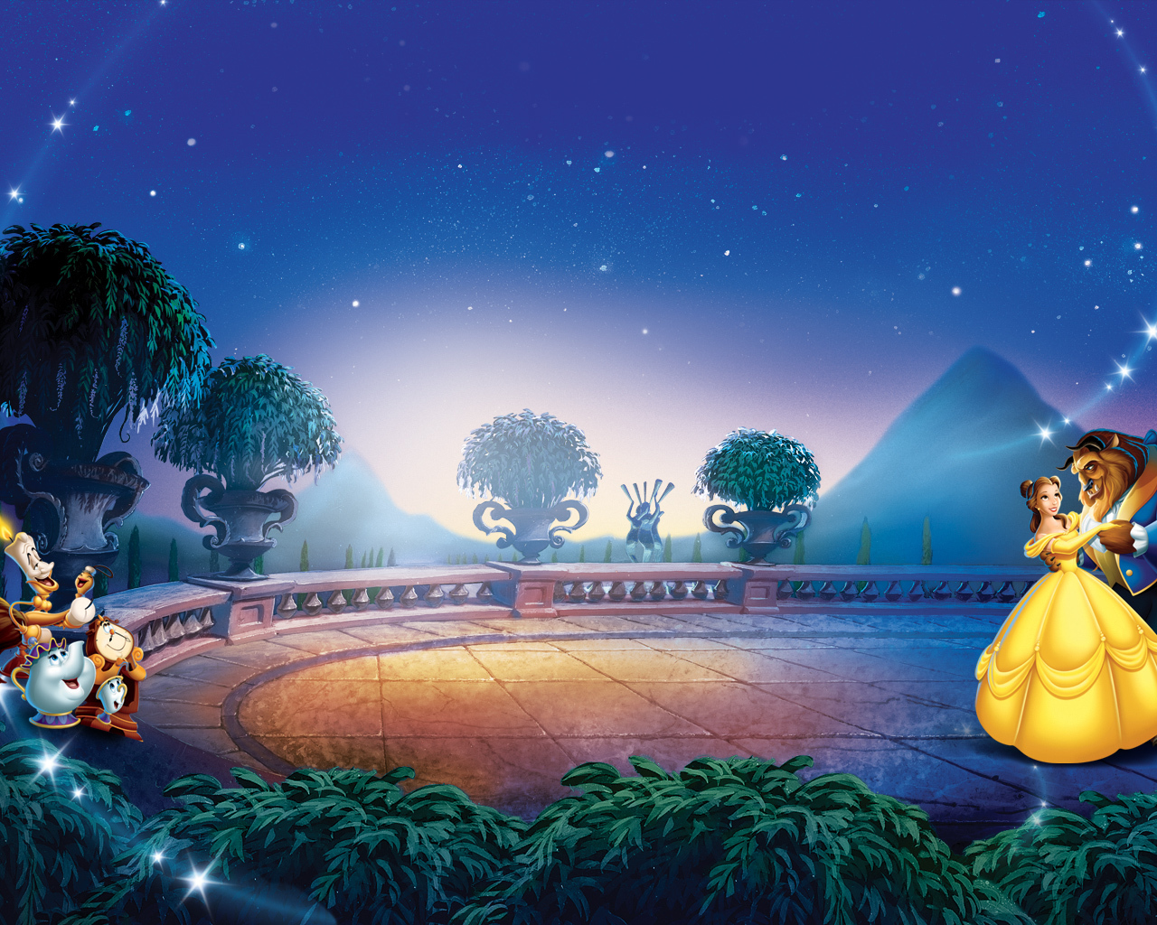 Beauty And The Beast Princess Wallpaper Backgrounds