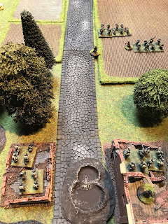 The Germans steel themselves for another attack