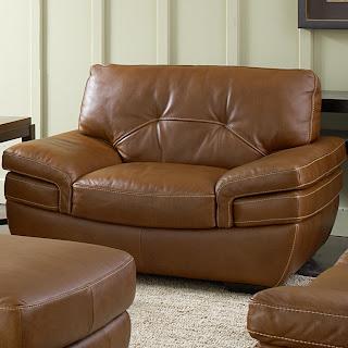 beautiful beige leather sofa