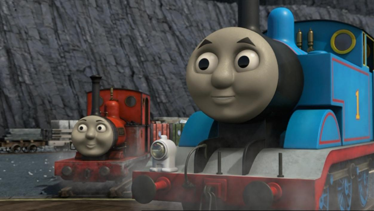 The Thomas and Friends Review Station: Movie Review: Blue