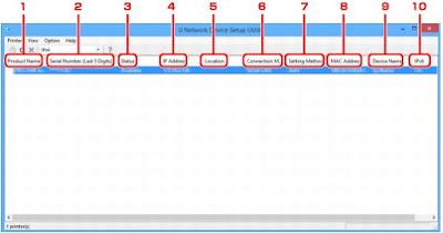PIXMA TS6150 IJ Network Device Setup Utility