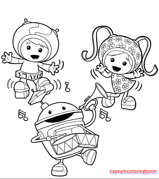 Nick jr Coloring Page Printable Coloring Page