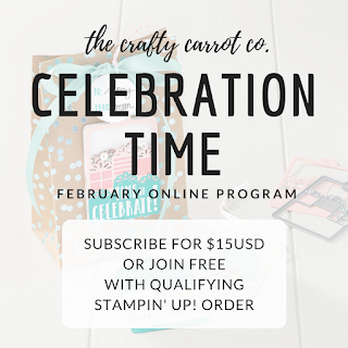 The Crafty Carrot Co. Online Program - February 2018