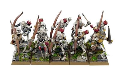 Games Workshop Skeleton Archers
