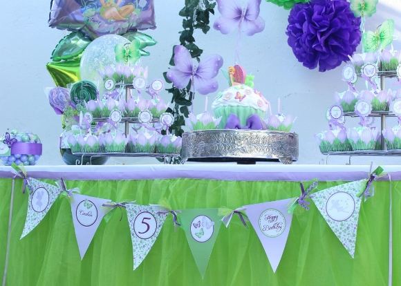 Pixie Fairy Party Ideas | Tinker Bell Inspired Birthday - BirdsParty.com